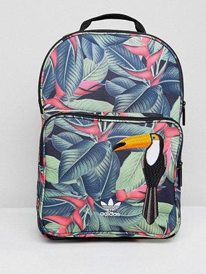 Adidas Originals ryggsäck Backpack In Tropical Print - Multicolor