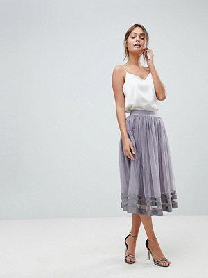 Little Mistress Tulle Midi Skirt