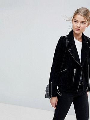 Selected Femme Suede Biker Jacket