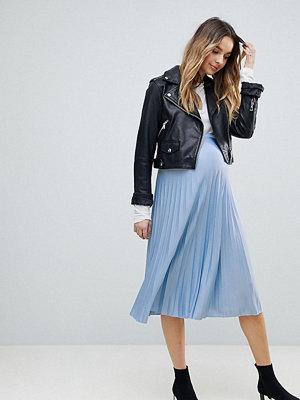 ASOS Maternity Pleated Midi Skirt