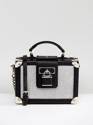 Aldo kuvertväska Box Bag with Crystal Stud Detail