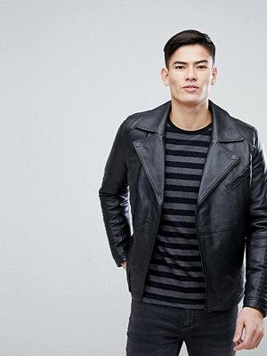 Skinnjackor - KIOMI Leather Biker Jacket In Black