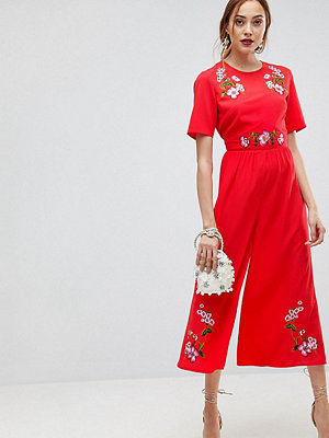 Asos Tall Broderad tea-jumpsuit