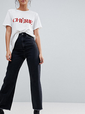 Asos Tall WIDE LEG Jeans in Ashes Black Wash