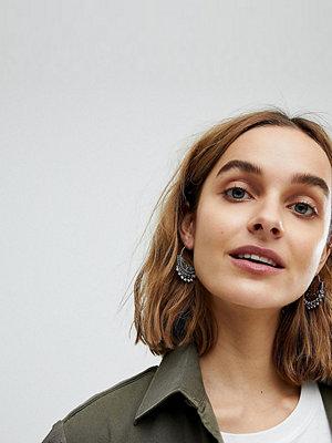 Reclaimed Vintage örhängen Inspired Boho Hoop Earring ()