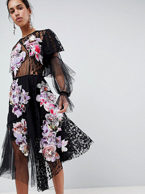 ASOS Edition Deconstructed Patchwork Dress