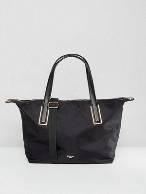 Dune axelväska Dindy Nylon Tote Shoulder Bag in Black