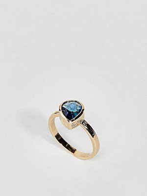 ASOS Limited Edition Semi-Precious Teardrop Ring