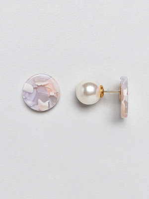 ASOS örhängen Limited Edition Resin Disc Double Bubble Earrings