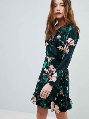 Only Floral Wrap Dress