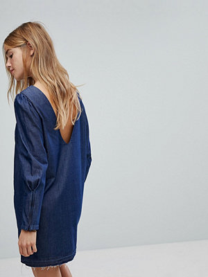Only Denim Dress - Dark blue denim