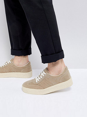 Sneakers & streetskor - ASOS Trainers In Stone With Chunky Sole
