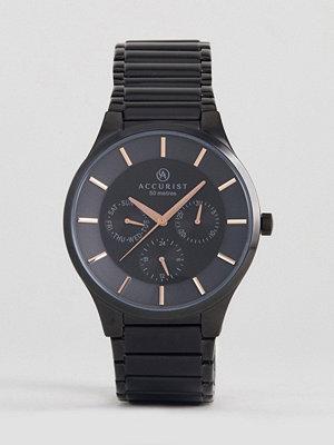 Klockor - Accurist 7186.01 Bracelet Watch In Black