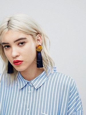 ASOS örhängen Limited Edition Tortoiseshell Tassel Drop Earrings