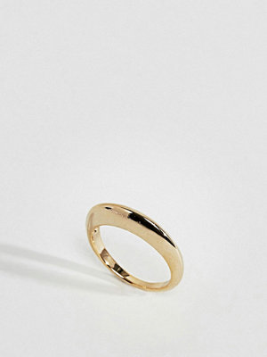 ASOS Limited Edition Sleek Flat Edge Graduated Ring