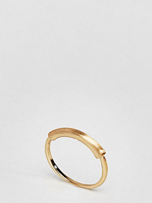 ASOS Curve Sleek Tube Bar Ring