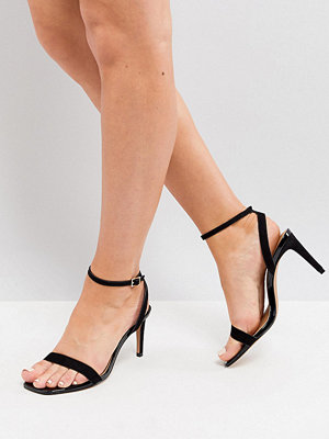 Sandaler & sandaletter - ASOS HALF TIME Wide Fit Barely There Heeled Sandals