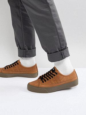 Sneakers & streetskor - Huf Hupper 2 Lo Trainers In Tan