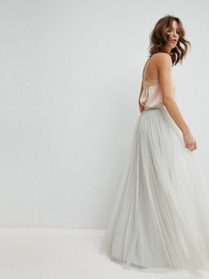 Needle & Thread Maxi Tulle Skirt
