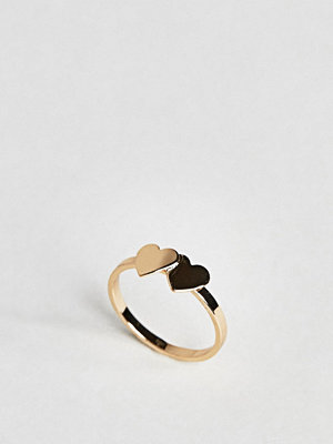 ASOS Double Heart Ring