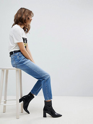Selected Femme High Rise Mom Jeans