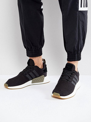 Adidas Originals NMD R2 Trainers In Black BY9917