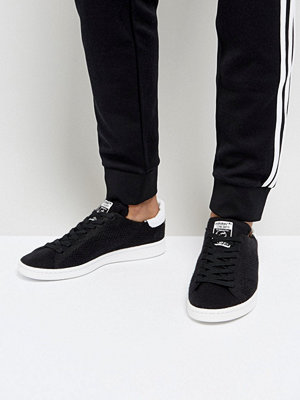 Adidas Originals Stan Smith Trainers In Black BZ0118