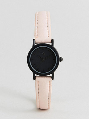 Klockor - ASOS Mini Tonal Face and Blush Strap Watch