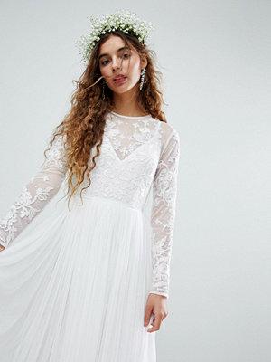 ASOS Edition Embroidered Bodice Wedding Maxi Dress