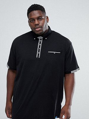 Pikétröjor - Duke PLUS Polo Shirt with Contrast Collar