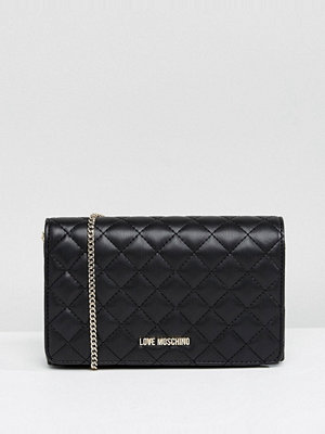 Love Moschino axelväska Quilted Chain Shoulder Bag