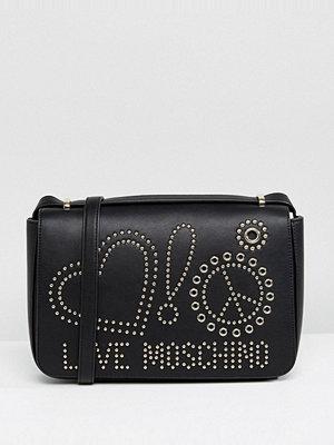 Love Moschino axelväska Studded Bag