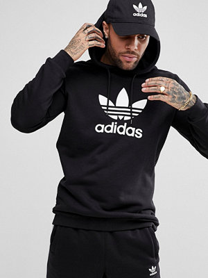 Adidas Originals adicolor Hoodie With Trefoil Logo In Black CW1240