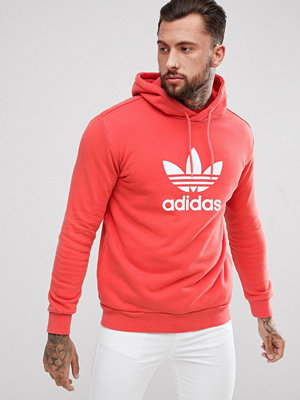 Adidas Originals adicolor Hoodie With Trefoil Logo In Red CX1899