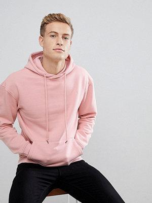 Street & luvtröjor - Jack & Jones Originals Hoodie In Pink