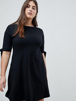 ASOS Curve Skater Dress with Bow Sleeve