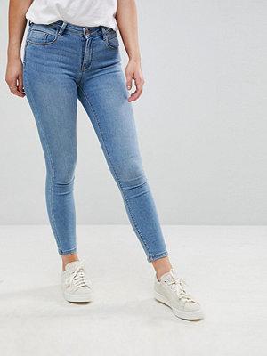 Only Push Up Skinny jeans Ljusblå demin