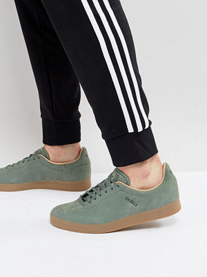 Adidas Originals Gazelle Decon Trainers In Green CG3705