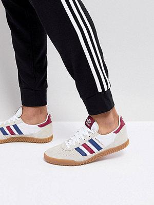 Adidas Originals Indoor Super Trainers In White CQ2222