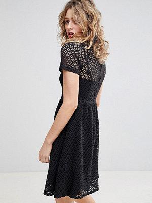 Ichi Lace Skater Dress