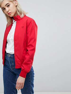Fred Perry Classic Harrington Jacket - 943 red