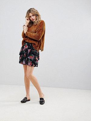 Ichi Blommig delad kjol