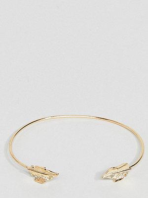 ASOS Curve armband Delicate Leaf Cuff Bracelet