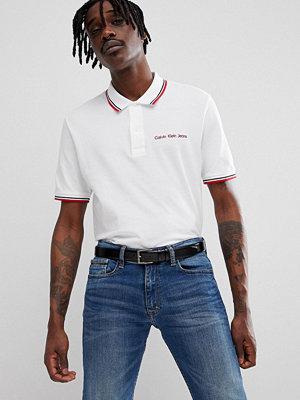 Calvin Klein Jeans Polo With Logo Script