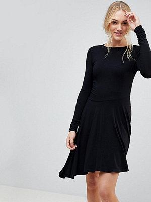 Asos Tall Mini Swing Dress with Asymmetric Hem