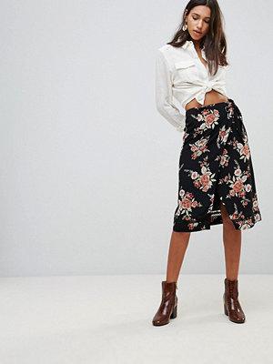 Minkpink Wallflower Wrap Skirt