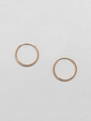 Weekday örhängen Mid Ring Hoop Earrings