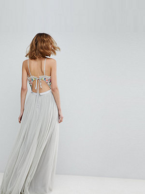 Needle & Thread Cami Strap Maxi Dress with Open Back
