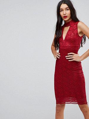Jessica Wright Choker Neck Bodycon Dress