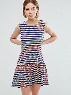 Closet London Hi Lo Striped Dress